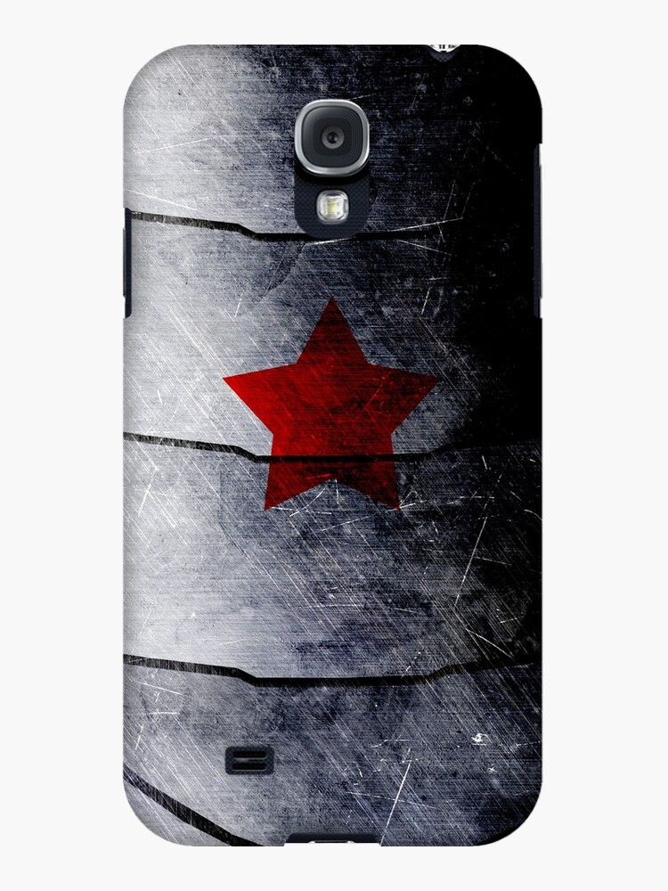 red star on steel by Summer Iscoming