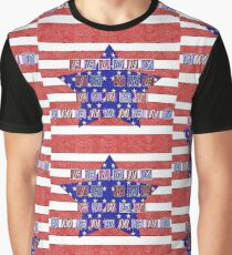 Felony Is The First Amendment Graphic T-Shirt