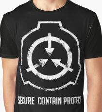 SCP: Secure. Contain Protect Graphic T-Shirt