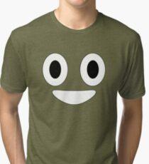 Halloween Poop Emoji Costume Tri-blend T-Shirt