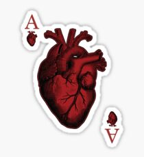 Ace of Hearts Sticker