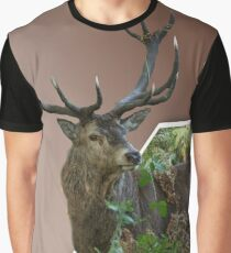 Richmond Stag Graphic T-Shirt