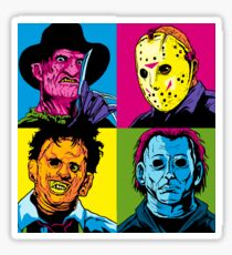 POP HORROR Sticker
