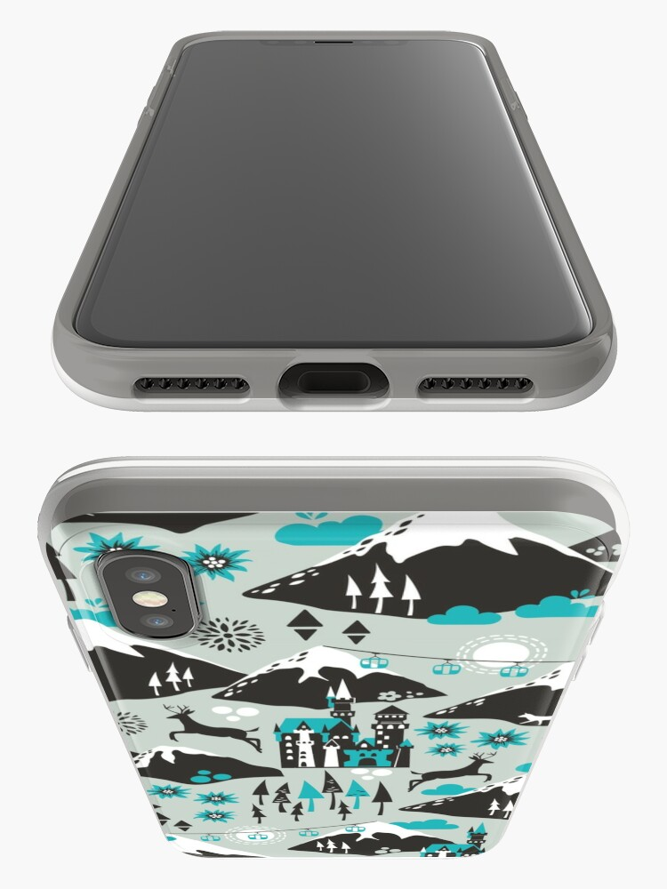 Alternate view of The Alps iPhone Case & Cover