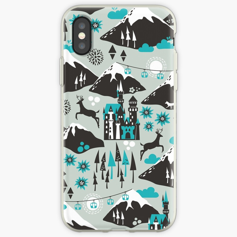 The Alps iPhone Case & Cover