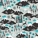 The Alps von Miriam Dornemann