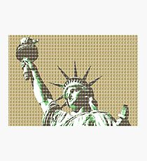 Liberty - Gold Photographic Print