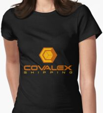Covalex Shipping (Large) Womens Fitted T-Shirt