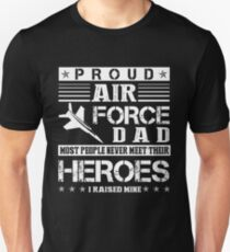 Proud Air Force Dad Shirt Unisex T-Shirt