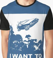 I believe in Delorean Graphic T-Shirt