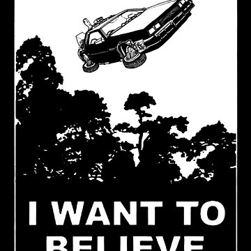 I believe in Delorean by pixel-designs