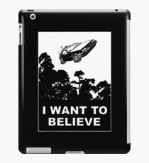 I believe in Delorean iPad Case/Skin