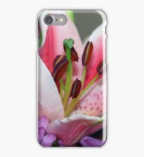 Exquisite lily iPhone Case/Skin