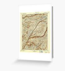 USGS TOPO Map California CA Big Trees 299225 1901 125000 geo Greeting Card