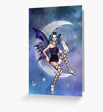 Birthday wiccan greeting cards redbubble moonlight fairy greeting card m4hsunfo