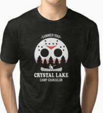 Crystal Lake Camp Counselor Tri-blend T-Shirt