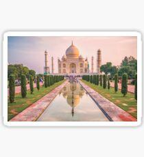 Taj Mahal at Sunrise Sticker