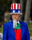 Uncle Sam at the St. Patrick's Day Parade by Alex Preiss