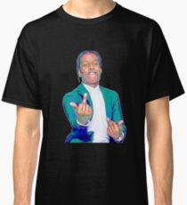 A$AP ROCKY w/ Middle Fingers Up Classic T-Shirt