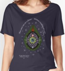 The egg-shaped universe Women's Relaxed Fit T-Shirt