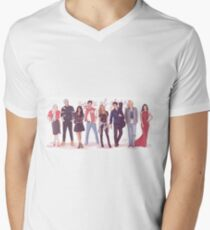 Throne of Glass - Modern day Men's V-Neck T-Shirt