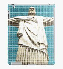 Christ The Redeemer - Dark Blue iPad Case/Skin