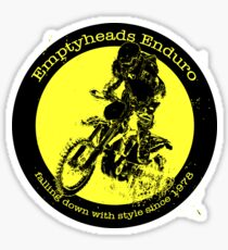 Emptyheads Enduro MCC Sticker