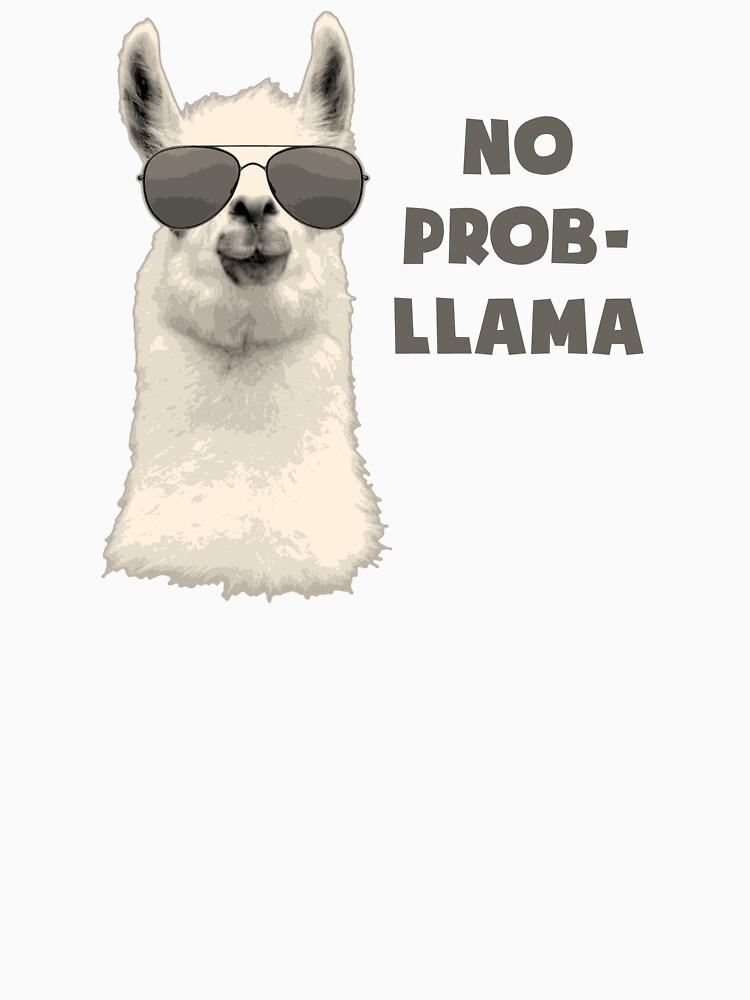 No Problem Llama von TheShirtYurt