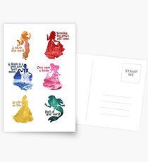 Princesses - Castle Postcards