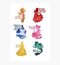 Princesses - Castle Photographic Print