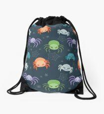 Cute Spider Pattern Drawstring Bag