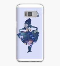 Welcome to Wonderland - Blue Samsung Galaxy Case/Skin