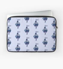 Welcome to Wonderland - Blue Laptop Sleeve