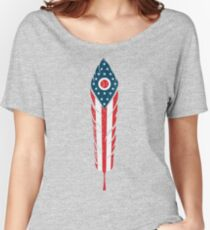 Ohio Feather Women's Relaxed Fit T-Shirt