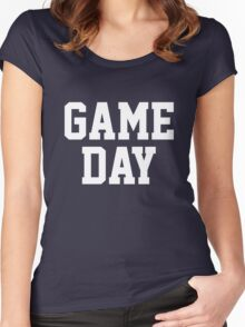 Game Day Women's Fitted Scoop T-Shirt