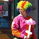 Pink Phone, Pink Balloons by wiggyofipswich