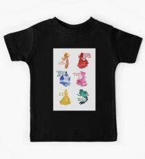 Princesses - Castle Kids Tee