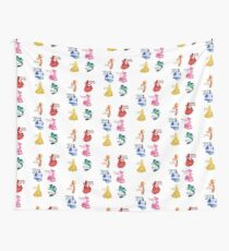 Princesses - Castle Wall Tapestry