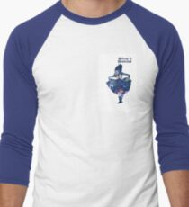 Wonderland Men's Baseball ¾ T-Shirt