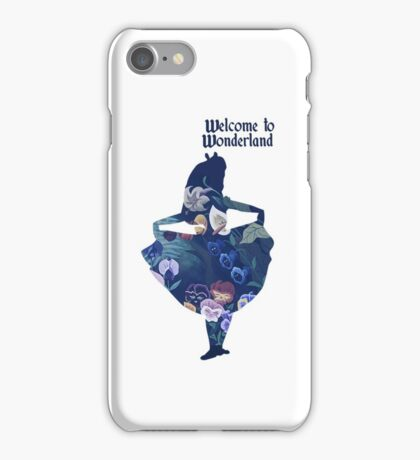 Wonderland iPhone Case/Skin