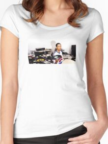Madlib Women's Fitted Scoop T-Shirt
