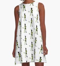 Never Grow Up A-Line Dress