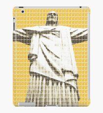 Christ the redeemer - Yellow iPad Case/Skin