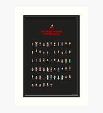 The 8-Bit Rocky Horror Picture Show Art Print