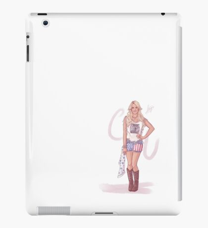 Carrie Underwood iPad Case/Skin