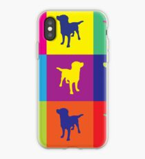 Pop art in the dogs iPhone Case