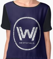 Westworld - everything can happen (rusted version) Women's Chiffon Top