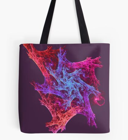 Heart chaos #fractal art Tote Bag