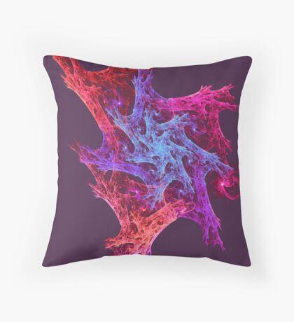 Heart chaos #fractal art Throw Pillow