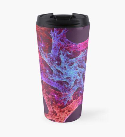 Heart chaos #fractal art Travel Mug